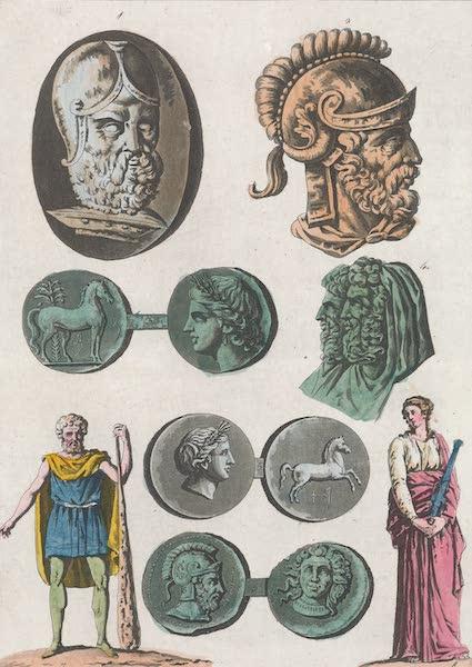 Le Costume Ancien et Moderne [Afrique] Vol. 1 - Habillement et armure des troupes Carthaginoises (1815)