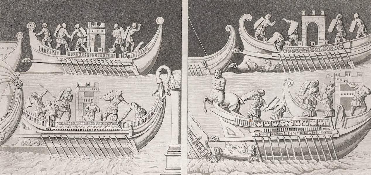 Le Costume Ancien et Moderne [Afrique] Vol. 1 - Combat naval (1815)