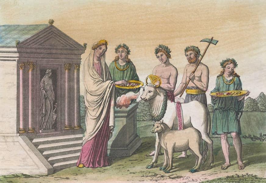 Le Costume Ancien et Moderne [Afrique] Vol. 1 - Sacrifice offert par Didon (1815)