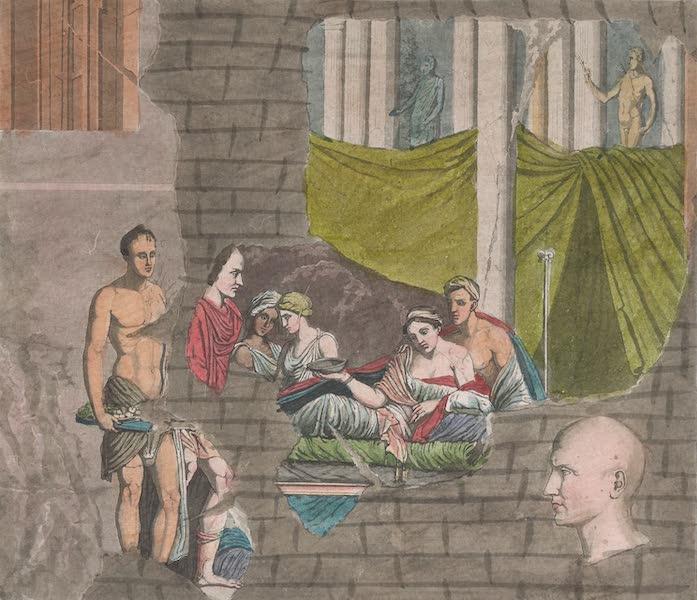 Le Costume Ancien et Moderne [Afrique] Vol. 1 - Monument representant les noces de Massinissa avec Sophonisbe (1815)
