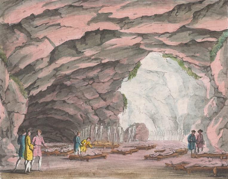 Le Costume Ancien et Moderne [Afrique] Vol. 1 - Cavernes sepulcrales des Guanches (1815)