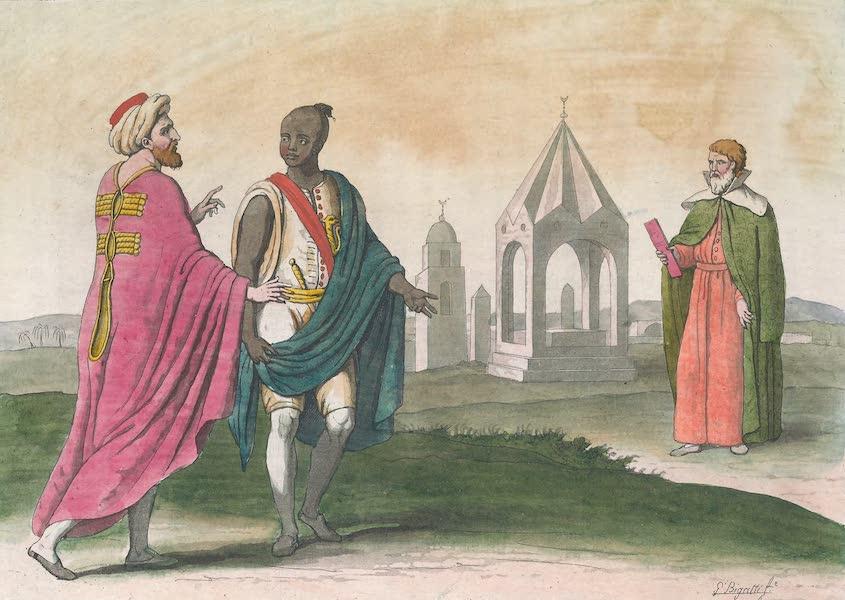 Le Costume Ancien et Moderne [Afrique] Vol. 1 - Magistrat, Militaire, Religieux (1815)