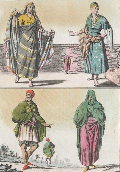 Le Costume Ancien et Moderne [Afrique] Vol. 1 - Habillemens Barbaresques [I] (1815)