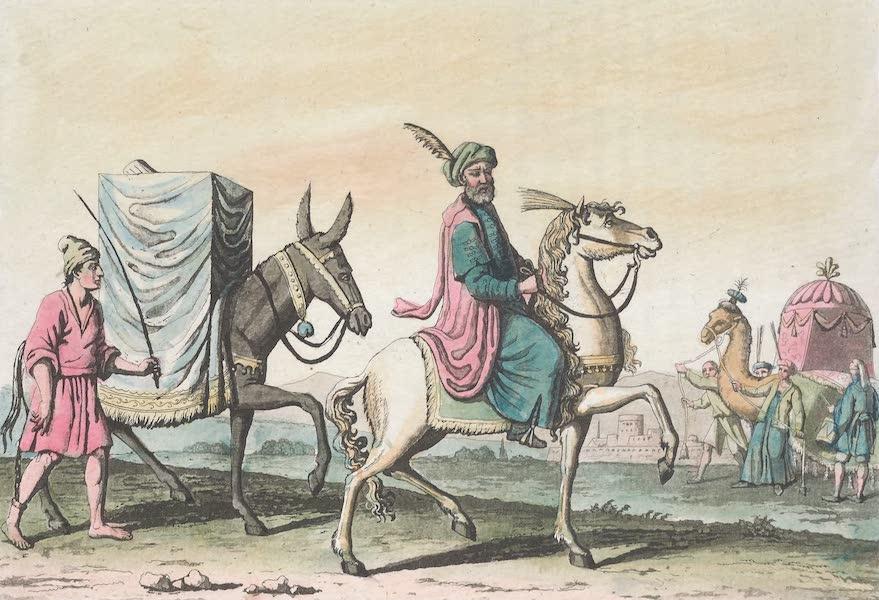Le Costume Ancien et Moderne [Afrique] Vol. 1 - Montures et litieres (1815)
