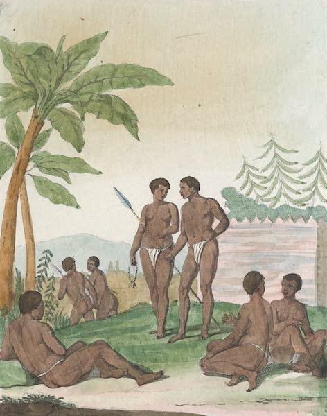 Le Costume Ancien et Moderne [Afrique] Vol. 1 - Habitans des iles du Cap Vert [I] (1815)