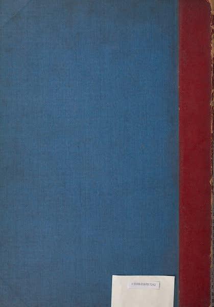 Le Costume Ancien et Moderne [Afrique] Vol. 1 - Back Cover (1815)