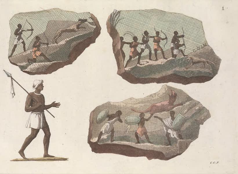 Le Costume Ancien et Moderne [Afrique] Vol. 2 - Habits et Armes des Ethiopiens (1819)