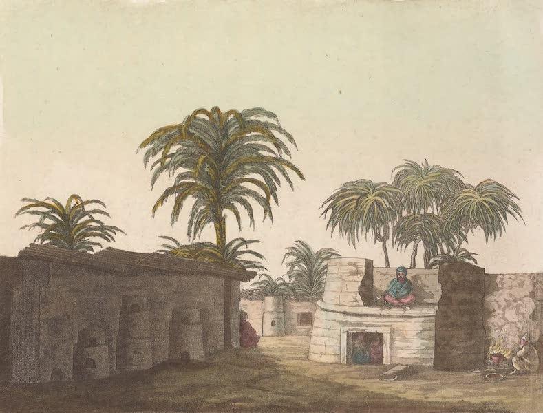 Le Costume Ancien et Moderne [Afrique] Vol. 2 - Maisons des Nubiens (1819)