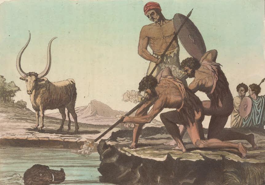 Le Costume Ancien et Moderne [Afrique] Vol. 2 - Chasse de l'hippopotame (1819)