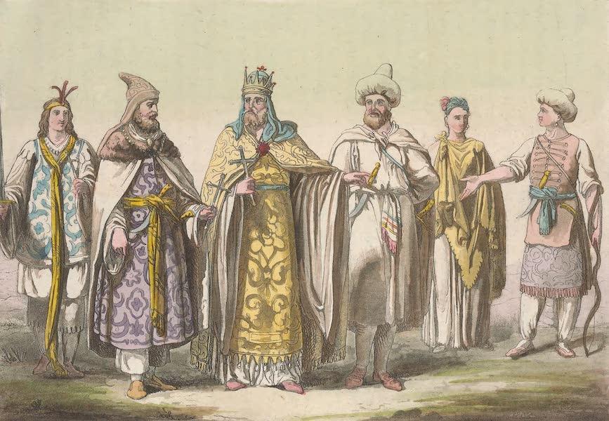 Le Costume Ancien et Moderne [Afrique] Vol. 2 - Le Pretre-Jean et les personnes de sa cour (1819)