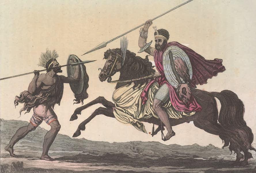 Le Costume Ancien et Moderne [Afrique] Vol. 2 - Milice des Abyssins (1819)