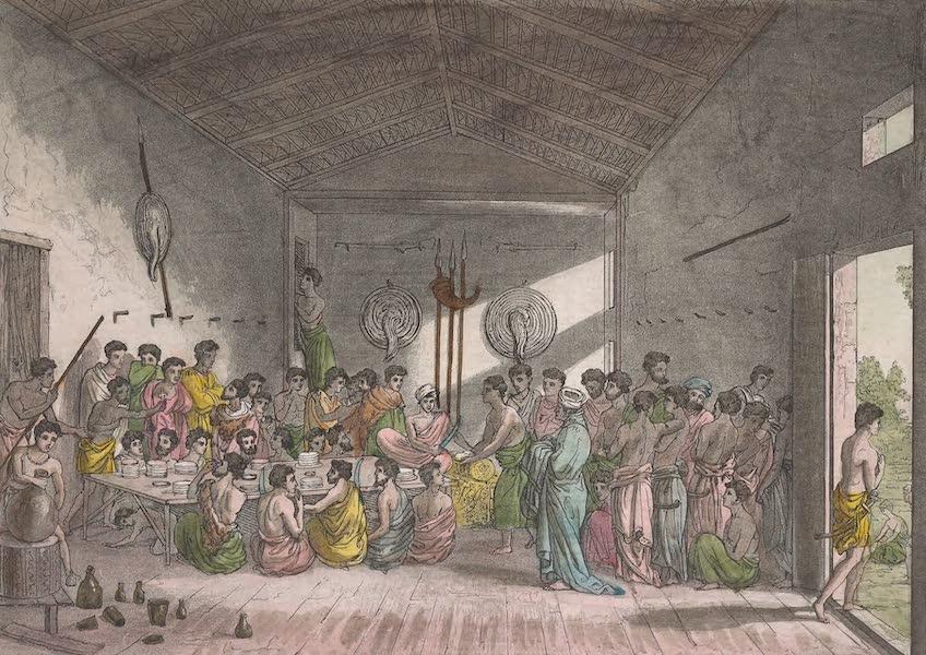 Le Costume Ancien et Moderne [Afrique] Vol. 2 - Festin d'appareil (1819)