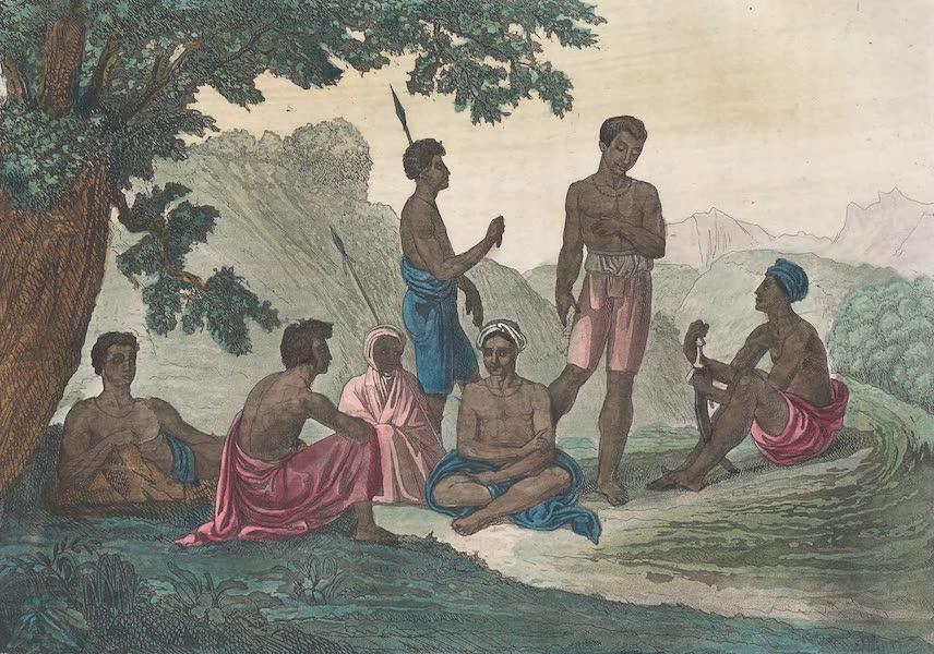 Le Costume Ancien et Moderne [Afrique] Vol. 2 - Abyssins en repos (1819)