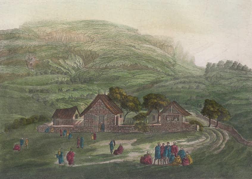 Le Costume Ancien et Moderne [Afrique] Vol. 2 - La maison du Ras Uelletta Selasse (1819)