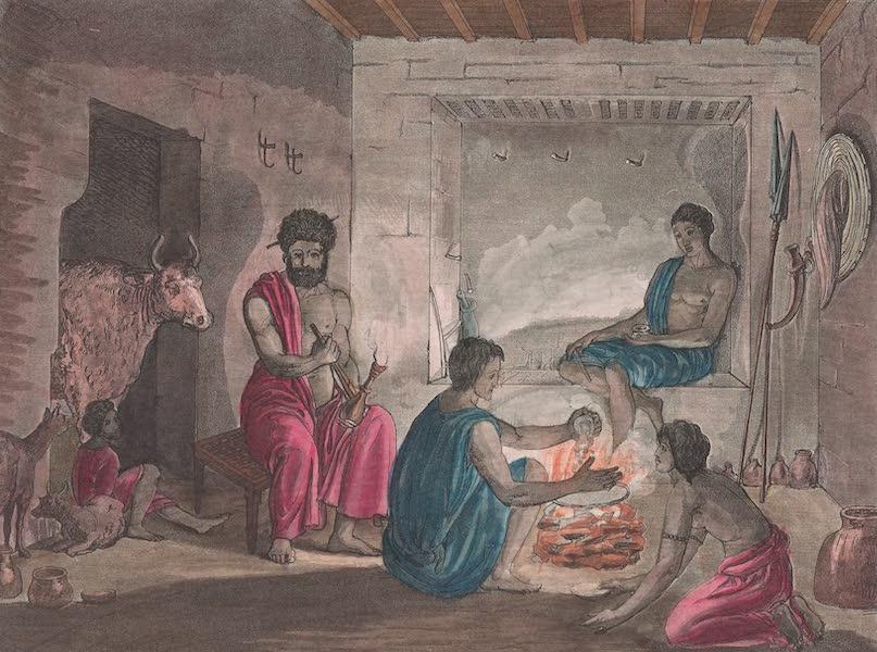 Le Costume Ancien et Moderne [Afrique] Vol. 2 - Une famille d'Hazortas (1819)
