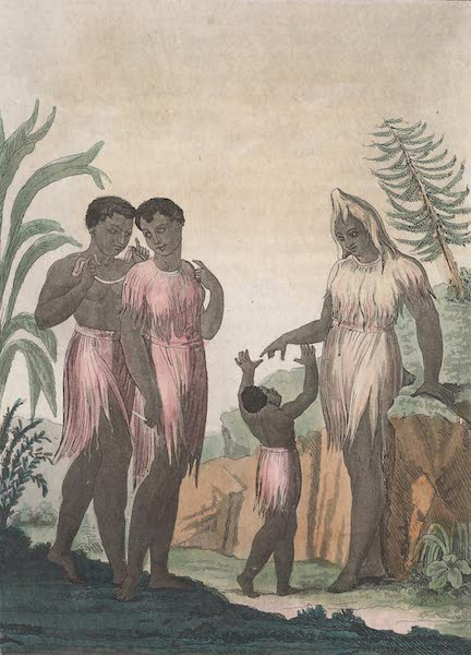 Le Costume Ancien et Moderne [Afrique] Vol. 2 - Femmes de Cazegut (1819)