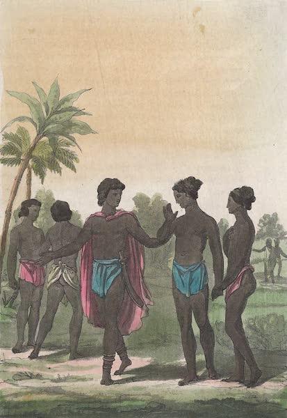 Le Costume Ancien et Moderne [Afrique] Vol. 2 - Negres de la cote de l'Ivoire (1819)