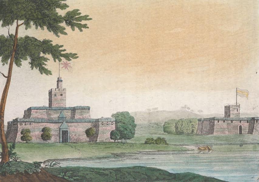 Le Costume Ancien et Moderne [Afrique] Vol. 2 - Forts des Anglais et des Hollandais a Commendo (1819)