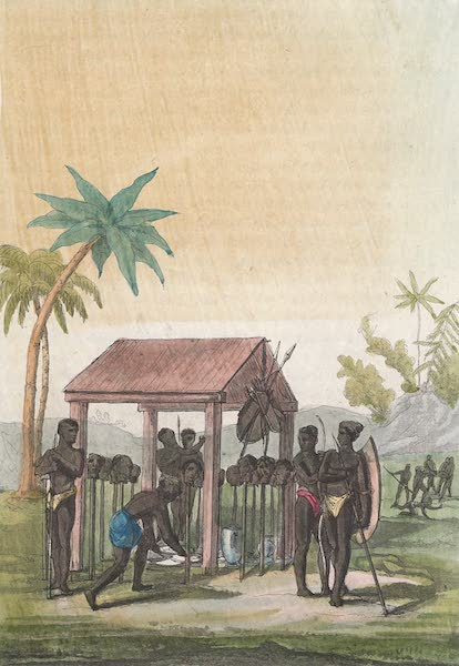 Le Costume Ancien et Moderne [Afrique] Vol. 2 - Tombeau des Rois de Guinee (1819)