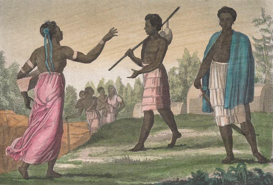 Le Costume Ancien et Moderne [Afrique] Vol. 2 - Negres du royaume d'Ardra (1819)