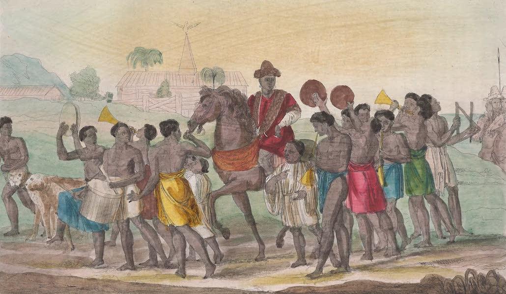 Le Costume Ancien et Moderne [Afrique] Vol. 2 - Marche pompeuse du Roi de Benin (1819)