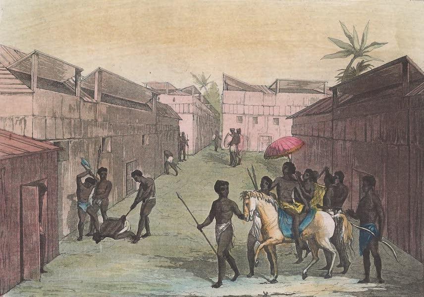 Le Costume Ancien et Moderne [Afrique] Vol. 2 - Abitations des Negres de Benin (1819)
