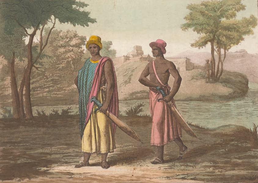 Le Costume Ancien et Moderne [Afrique] Vol. 2 - Habillement du Roi et des Grands (1819)