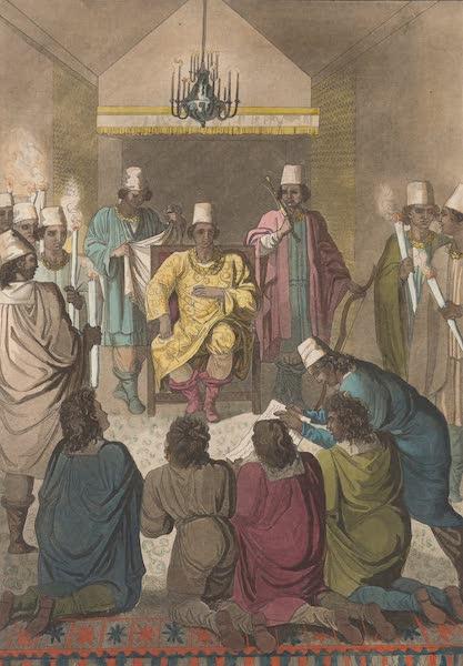 Le Costume Ancien et Moderne [Afrique] Vol. 2 - Audience donnee aux Hollandais etc (1819)