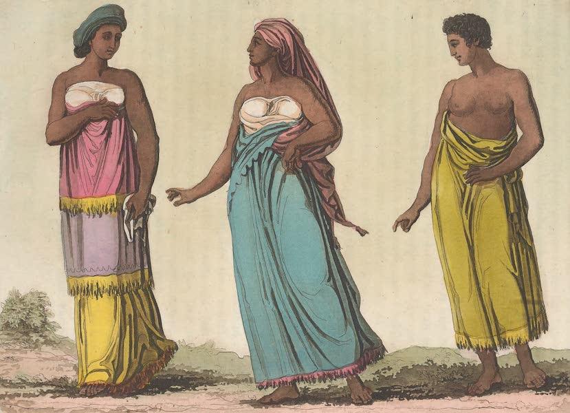 Le Costume Ancien et Moderne [Afrique] Vol. 2 - Habillement des femmes (1819)