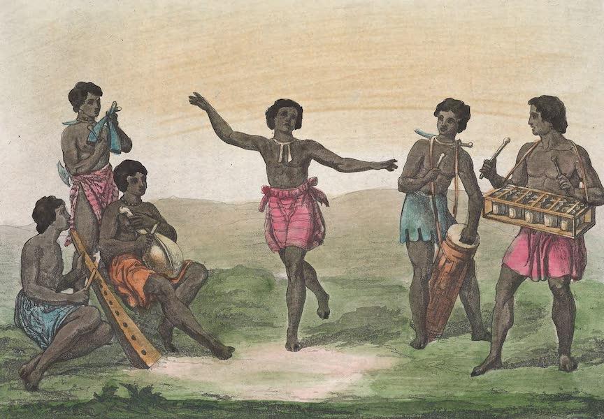 Le Costume Ancien et Moderne [Afrique] Vol. 2 - Instrumens de musique (1819)
