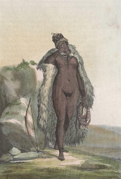 Le Costume Ancien et Moderne [Afrique] Vol. 2 - Hottentote avec le pretendu tablier (1819)