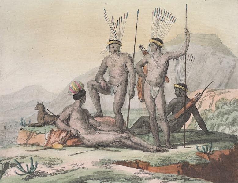 Le Costume Ancien et Moderne [Afrique] Vol. 2 - Boschismans en voyage etc (1819)
