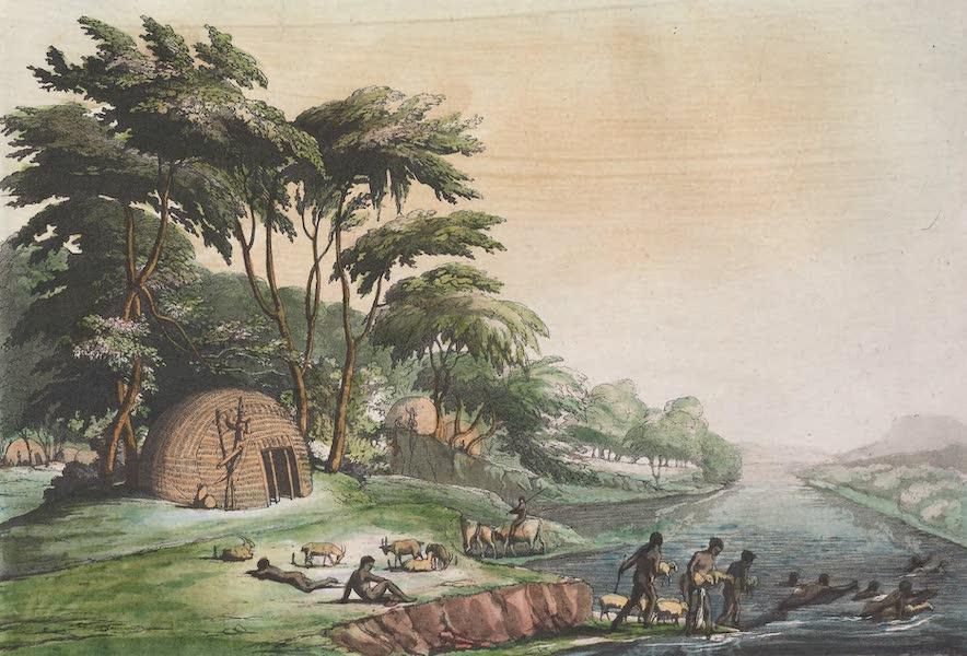 Le Costume Ancien et Moderne [Afrique] Vol. 2 - Villages des Hottentots-Korahs (1819)