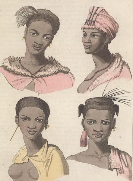 Le Costume Ancien et Moderne [Afrique] Vol. 2 - Portraits des Cafres (1819)
