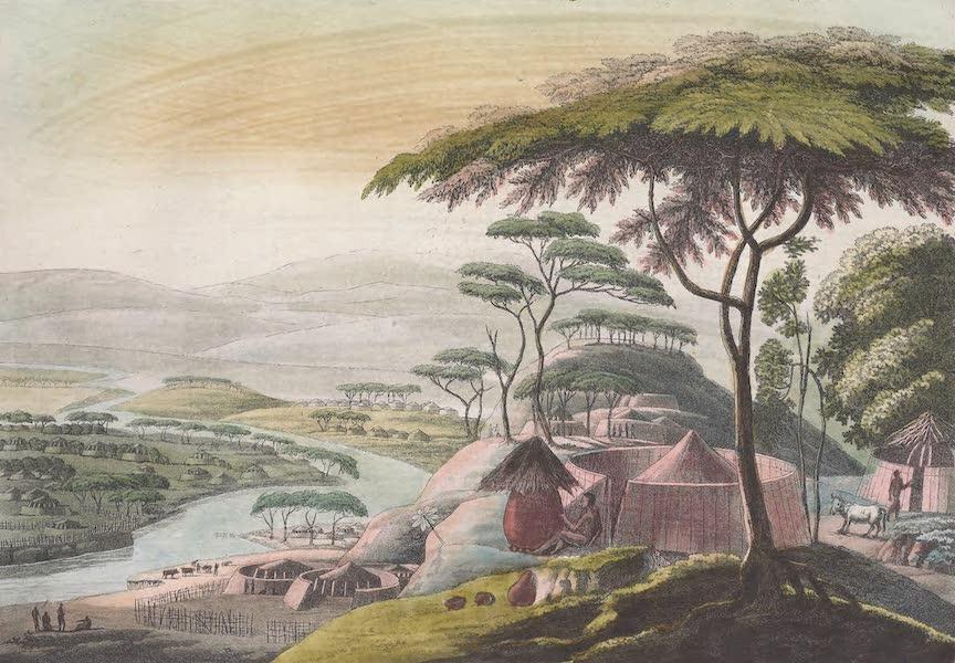 Le Costume Ancien et Moderne [Afrique] Vol. 2 - Ville de Litakou (1819)
