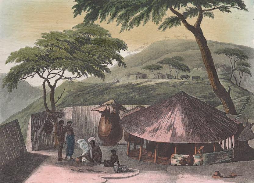 Le Costume Ancien et Moderne [Afrique] Vol. 2 - Habitations des Beschouanas (1819)