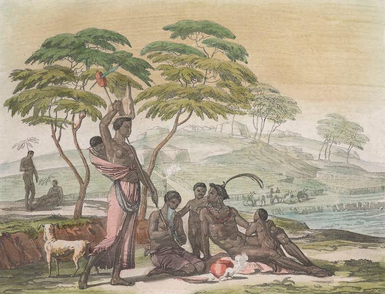 Le Costume Ancien et Moderne [Afrique] Vol. 2 - Costume des Beschouanas (1819)