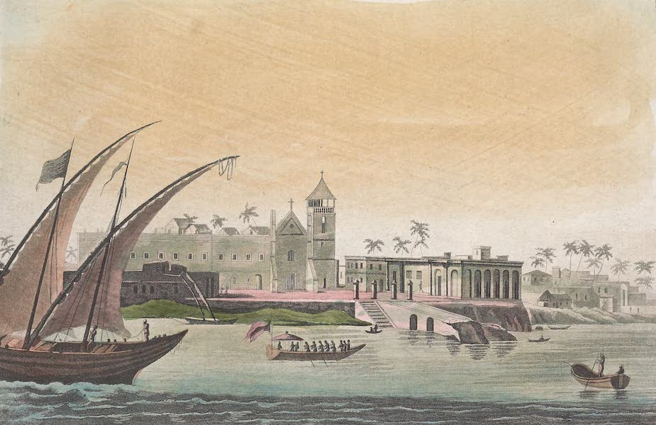Le Costume Ancien et Moderne [Afrique] Vol. 2 - Palais du Gouverneur de Mozambique (1819)