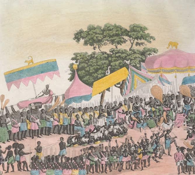 Le Costume Ancien et Moderne [Afrique] Vol. 2 - De guelle maniere l'ambassade Anglaise fut recue du Roi [II] (1819)