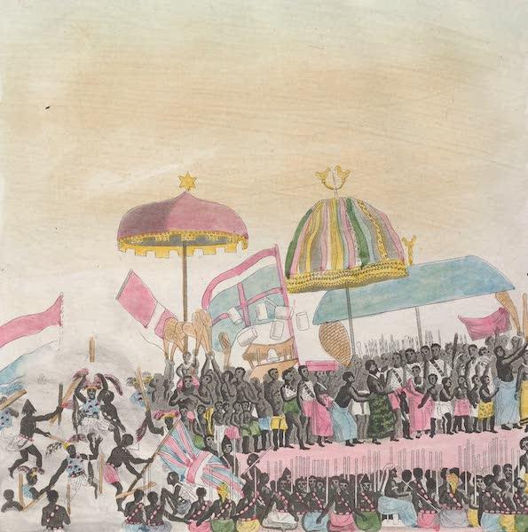 Le Costume Ancien et Moderne [Afrique] Vol. 2 - De guelle maniere l'ambassade Anglaise fut recue du Roi [III] (1819)