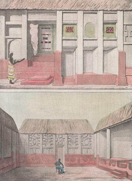 Le Costume Ancien et Moderne [Afrique] Vol. 2 - Exterieur d'une chambre a coucher (1819)