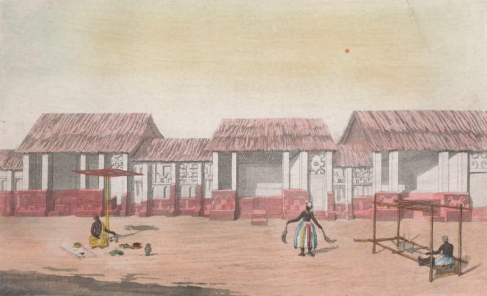 Le Costume Ancien et Moderne [Afrique] Vol. 2 - Vue d'une rue d'Adum (1819)
