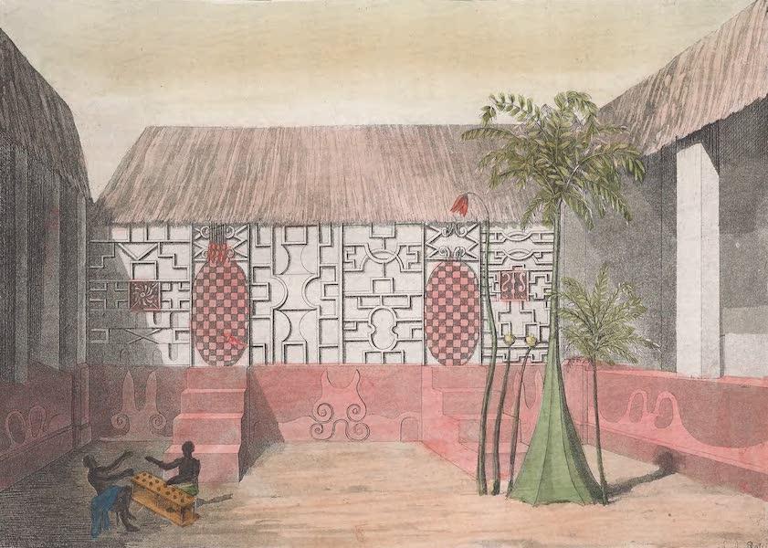 Le Costume Ancien et Moderne [Afrique] Vol. 2 - Partie exterieure de la chambre a coucher du Roi (1819)