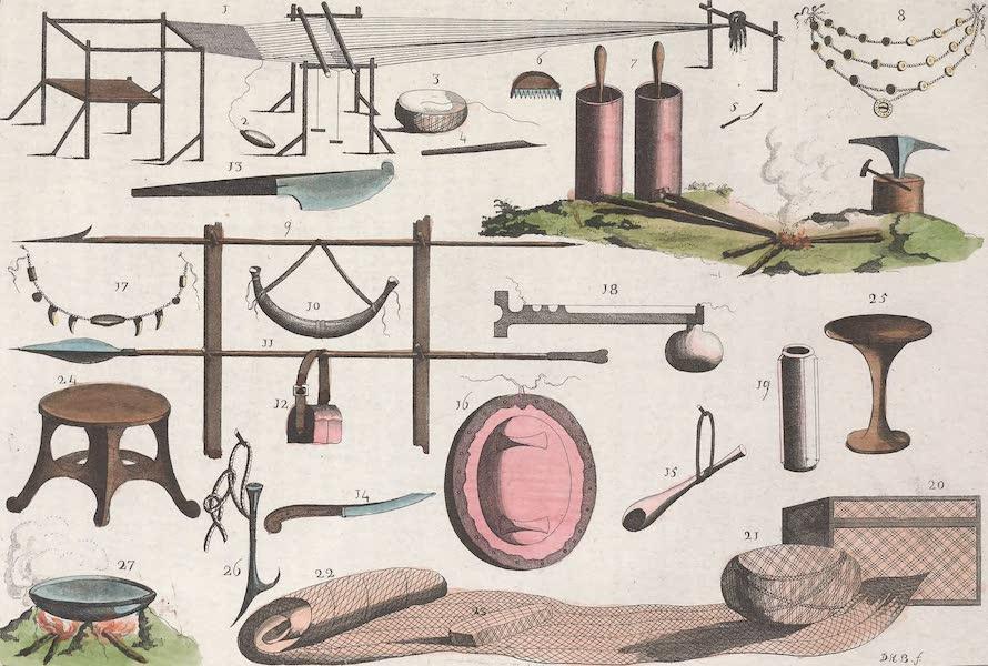 Le Costume Ancien et Moderne [Afrique] Vol. 2 - Ustensiles des Magasses (1819)