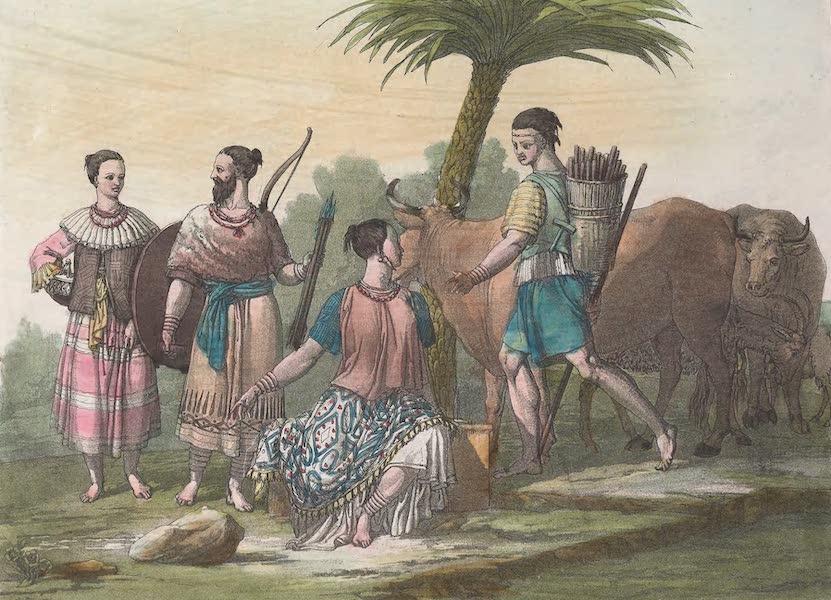 Le Costume Ancien et Moderne [Afrique] Vol. 2 - Armes des Magagasses (1819)