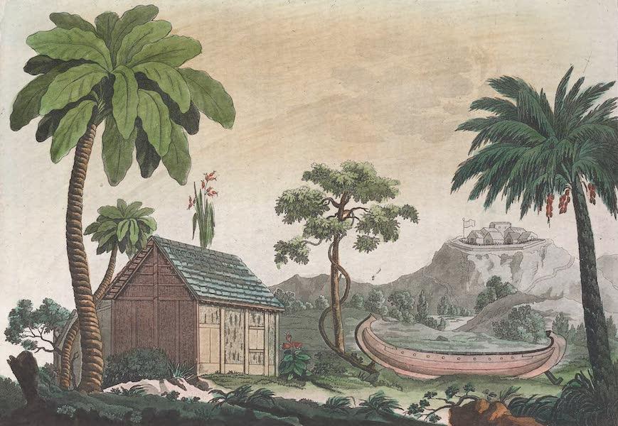 Le Costume Ancien et Moderne [Afrique] Vol. 2 - Leurs maisons (1819)