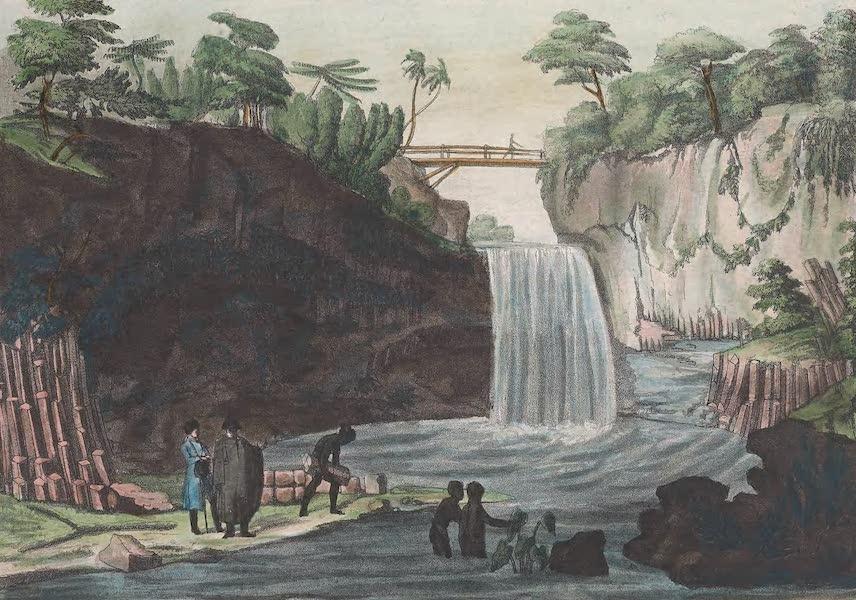 Le Costume Ancien et Moderne [Afrique] Vol. 2 - Pont et cascade de cette riviere [I] (1819)