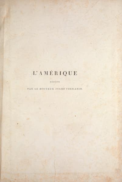 Le Costume Ancien et Moderne [Amerique] Vol. 1 - Title Page (1820)