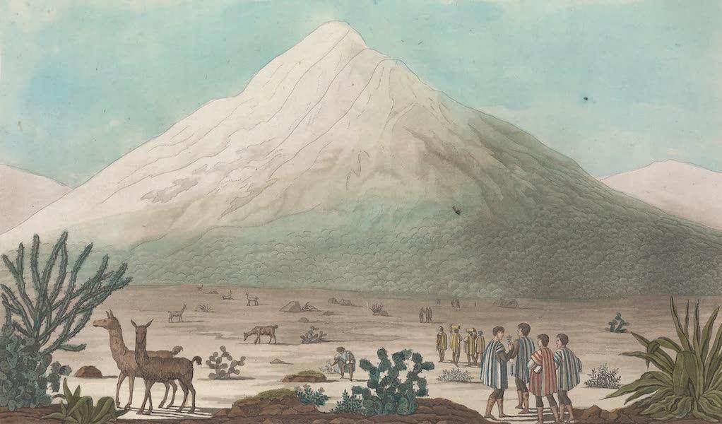 Le Chimborazzo vue du plateau de Tapia
