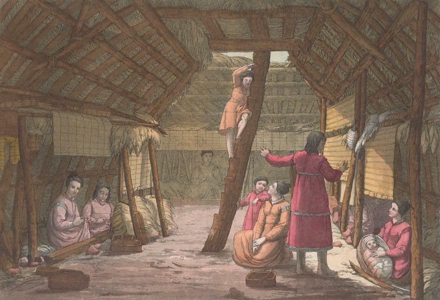 L'Exterieur et l'interieur d'une maison d'Unalaschka [II]